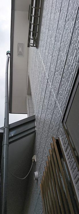 外壁塗装・屋根重ね葺き工事後 軒天