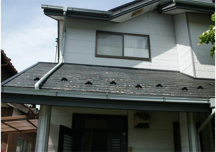 外壁塗装・屋根重ね葺工事前